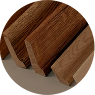 Parquet boards and strips